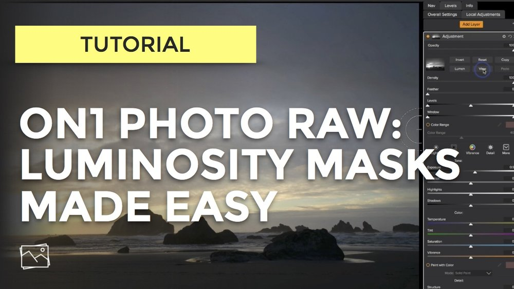 ICYMI: Easily Work With Luminosity Masks In ON1 Photo RAW
