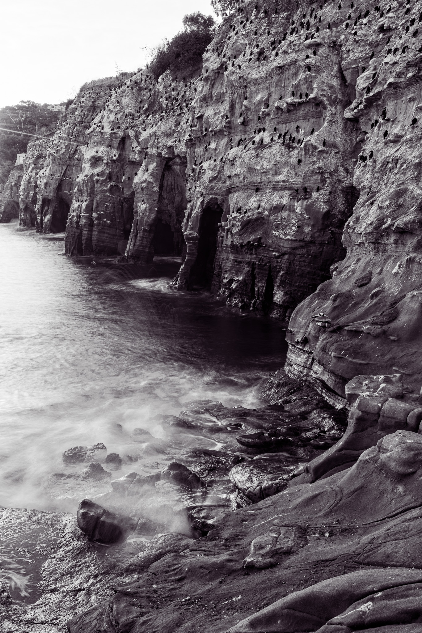 Cliffs At The Coast Walk