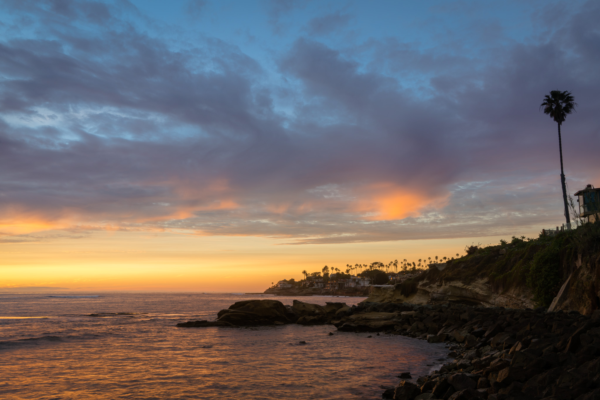 Sunset In La Jolla