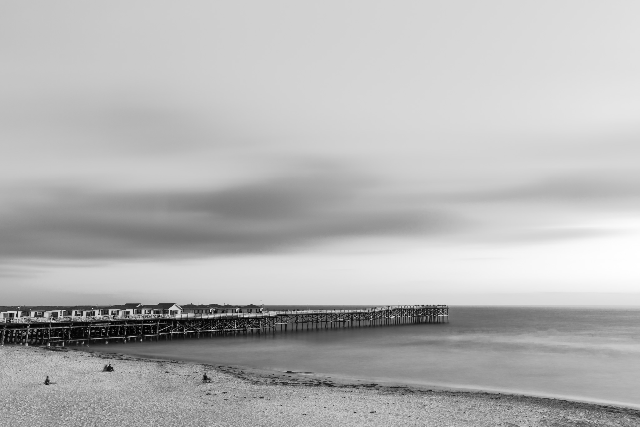 Crystal Pier, Black & White