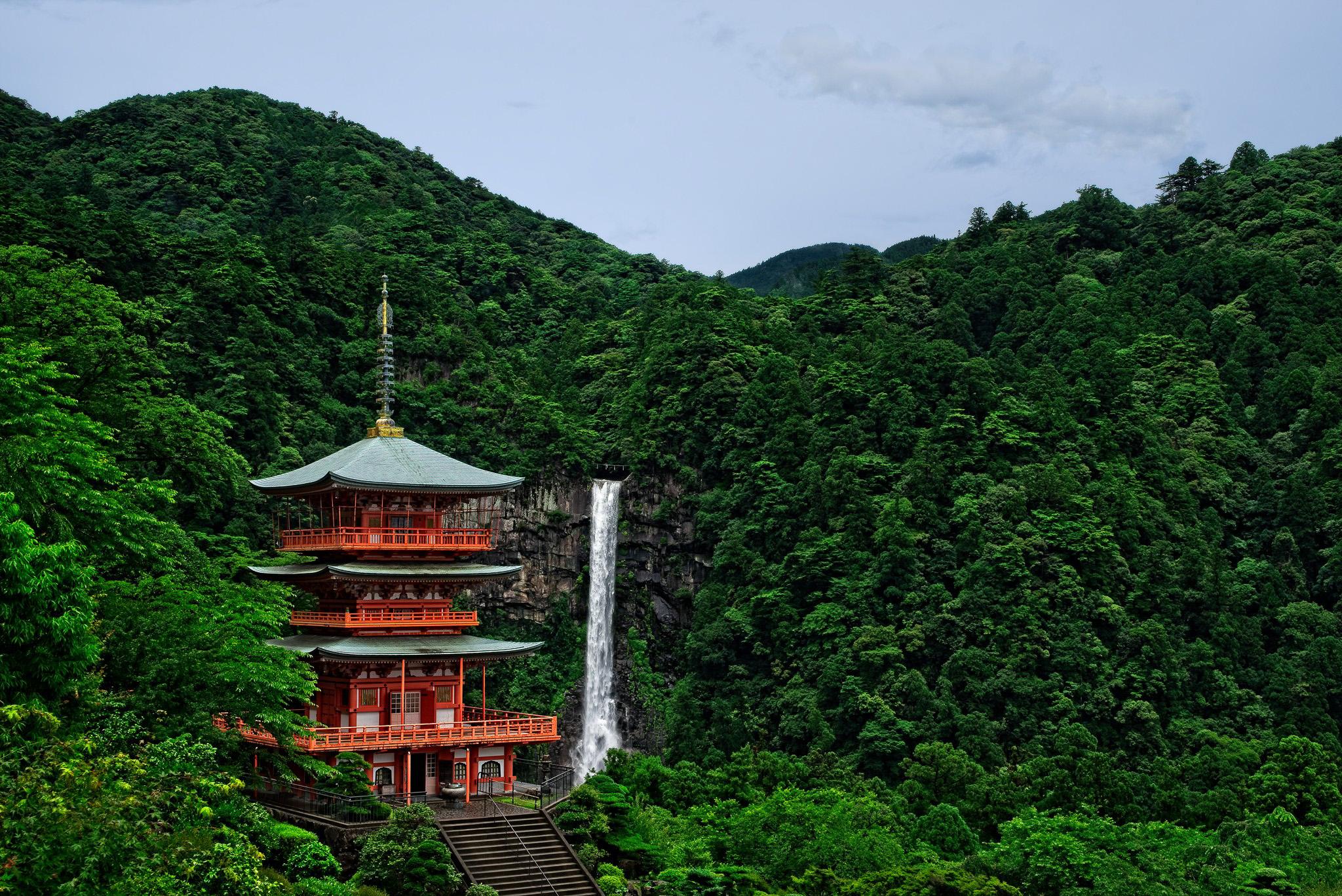 Seigantoji Temple And Nachi Falls