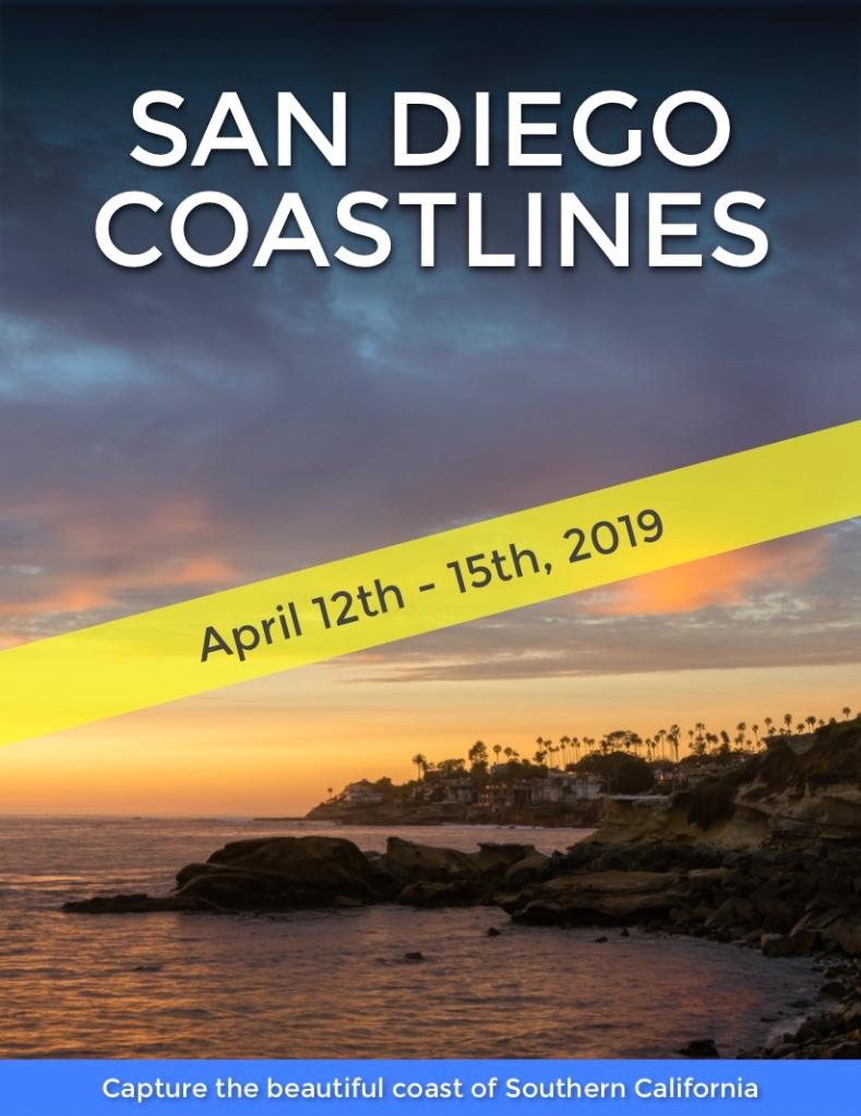 San Diego Coastlines, April 2019