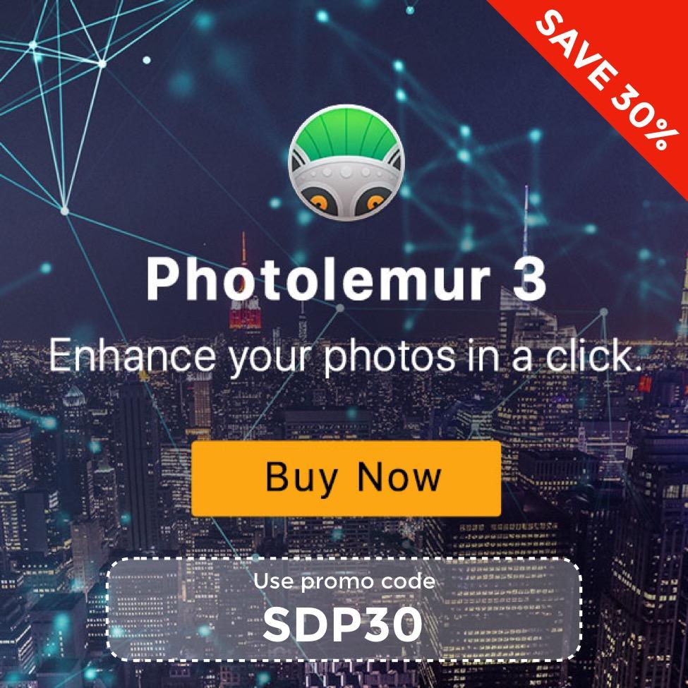 Save 30% on Photolemur