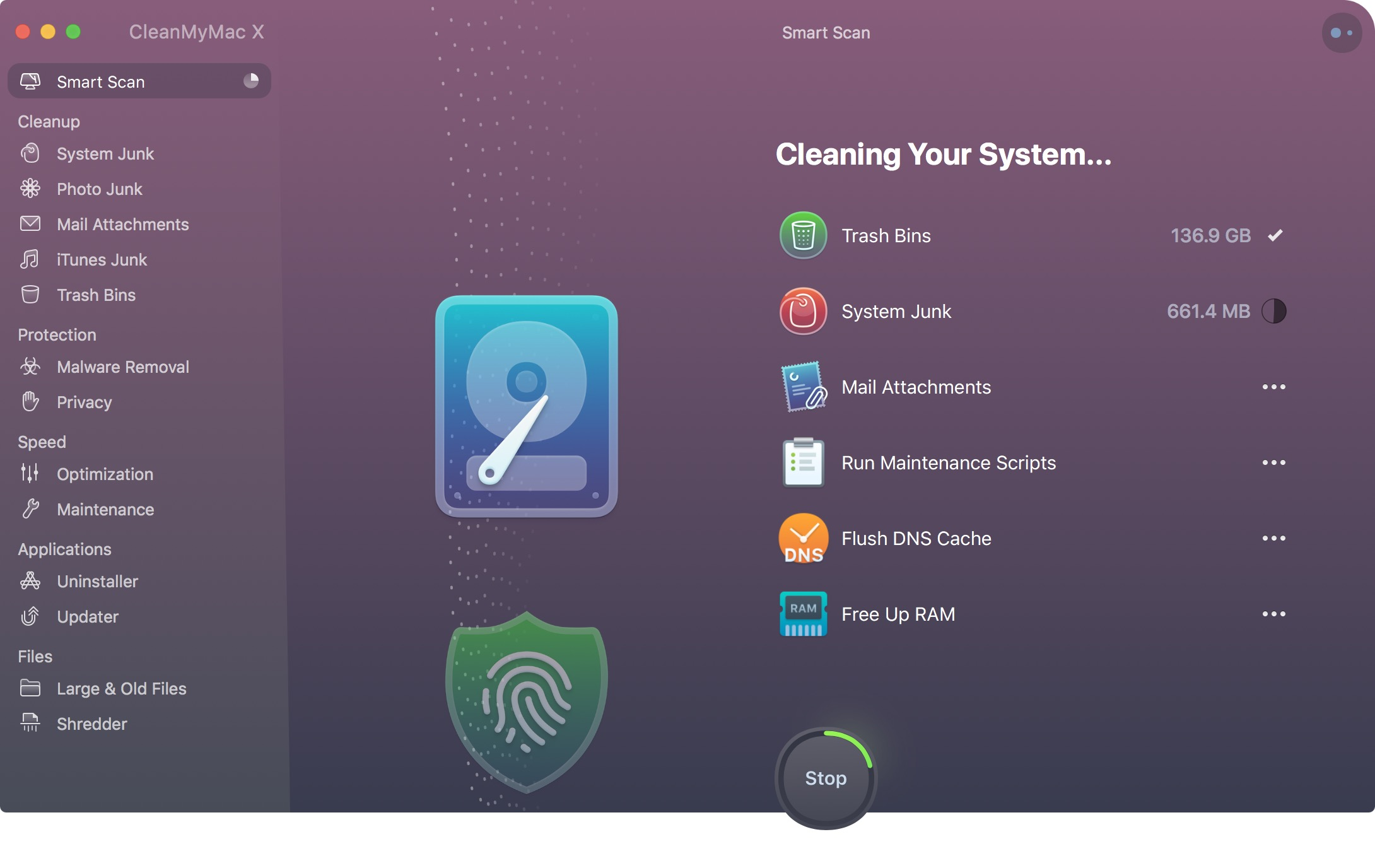 CleanMyMac X makes it easy to tidy up your Mac and have it run its best.  Try CleanMyMac for free .