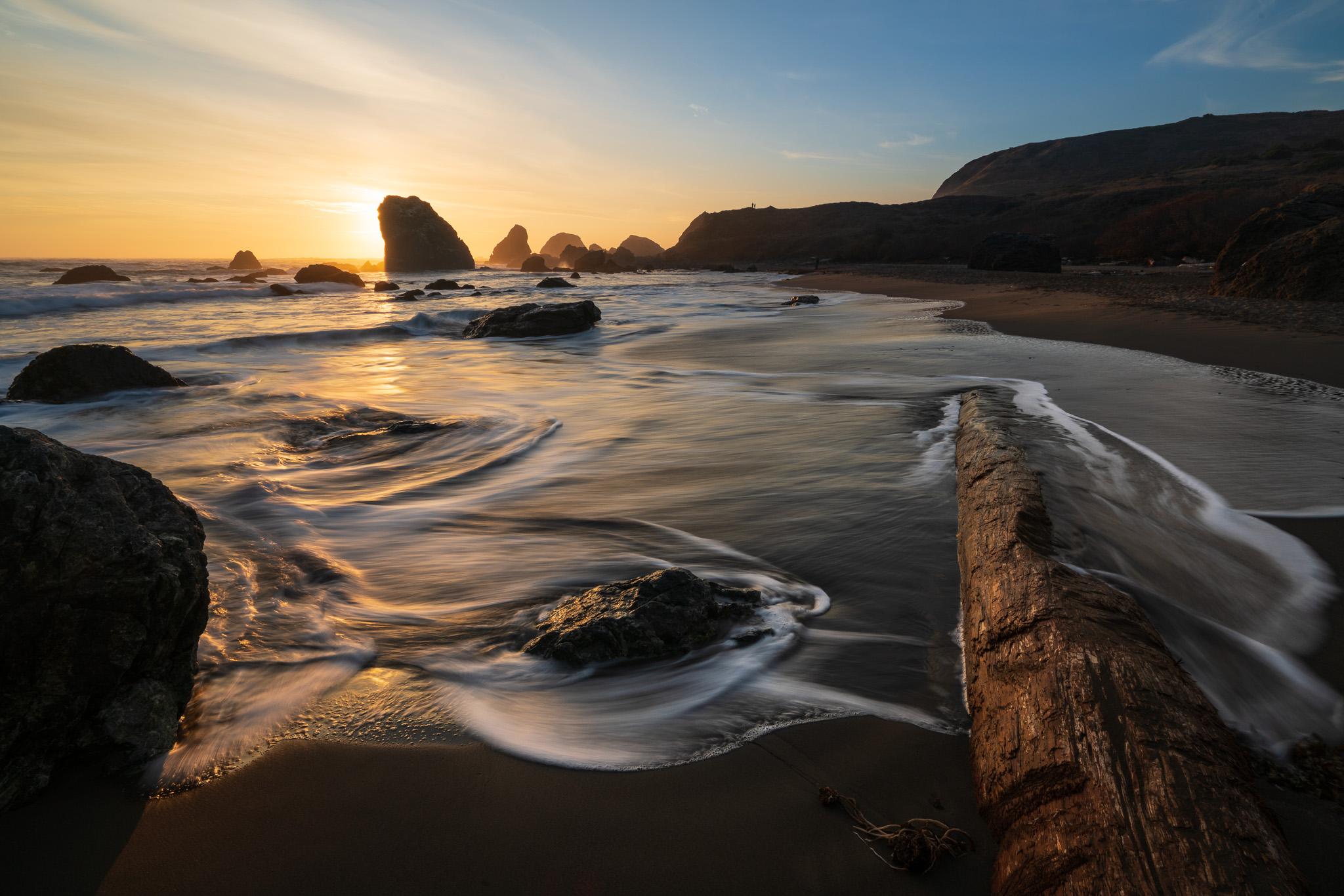 Lone Ranch Beach, Sunset