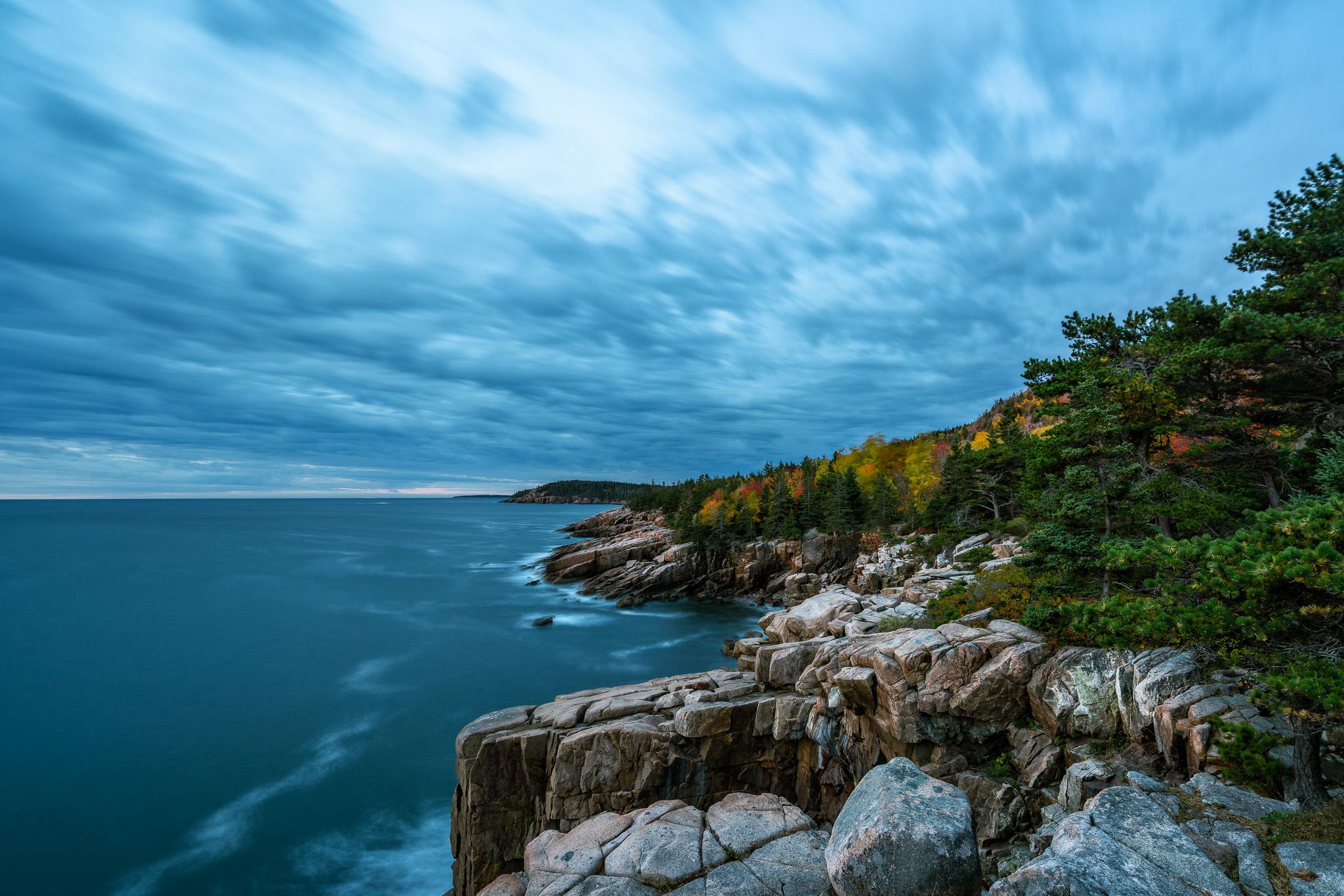 Along The Ocean Path In Acadia