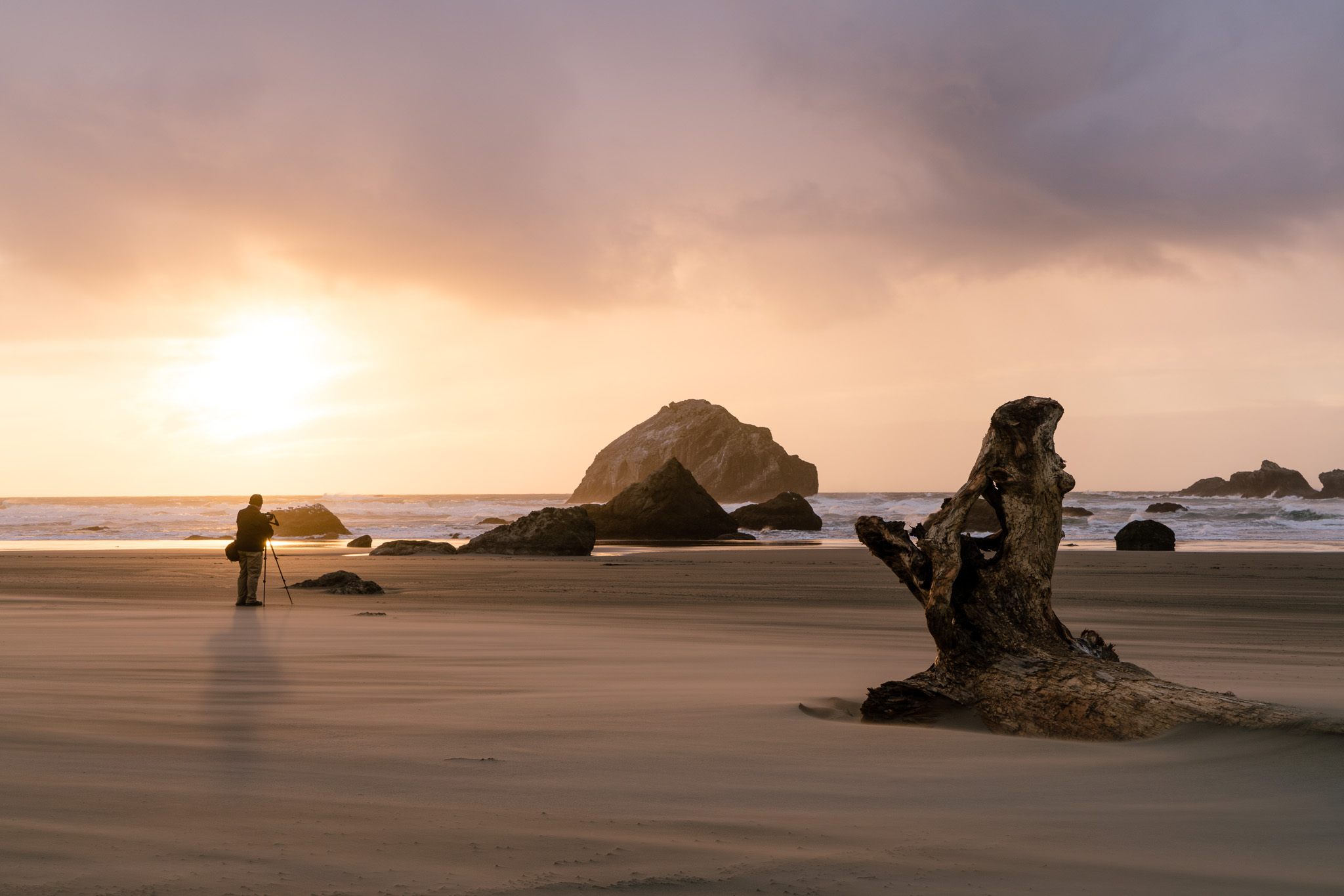 Photographer Captures Bandon Beach