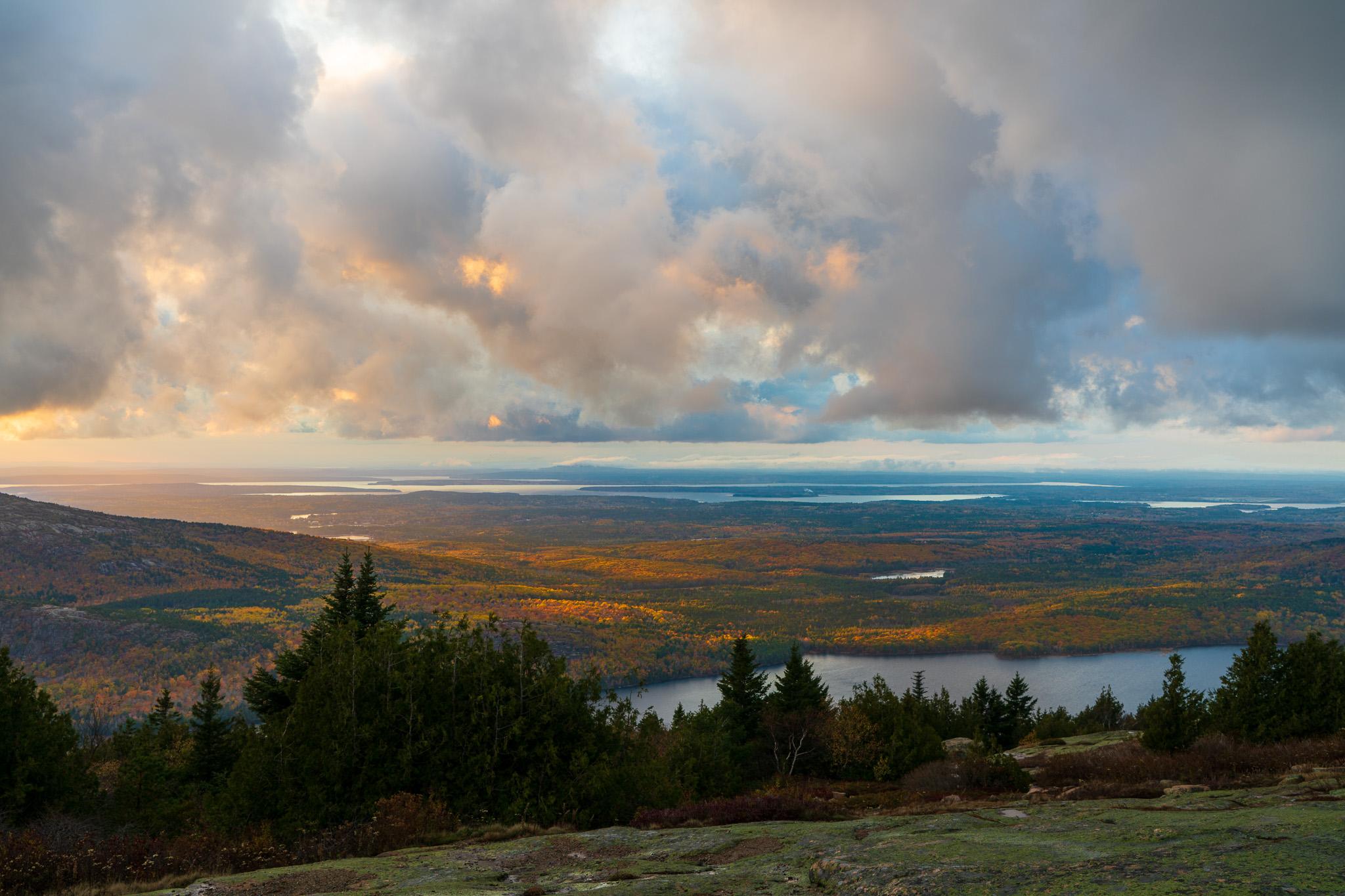 Blue Hiil Overlook, Acadia National Park