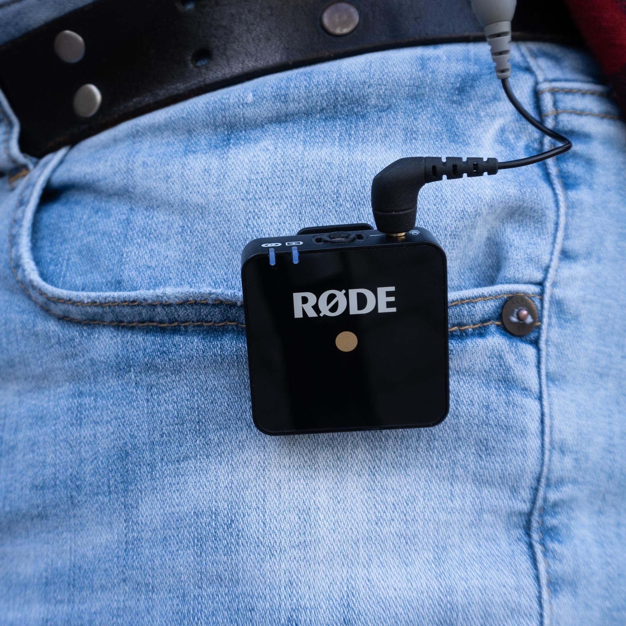 Rode Wireless Go Transmitter Clip 2