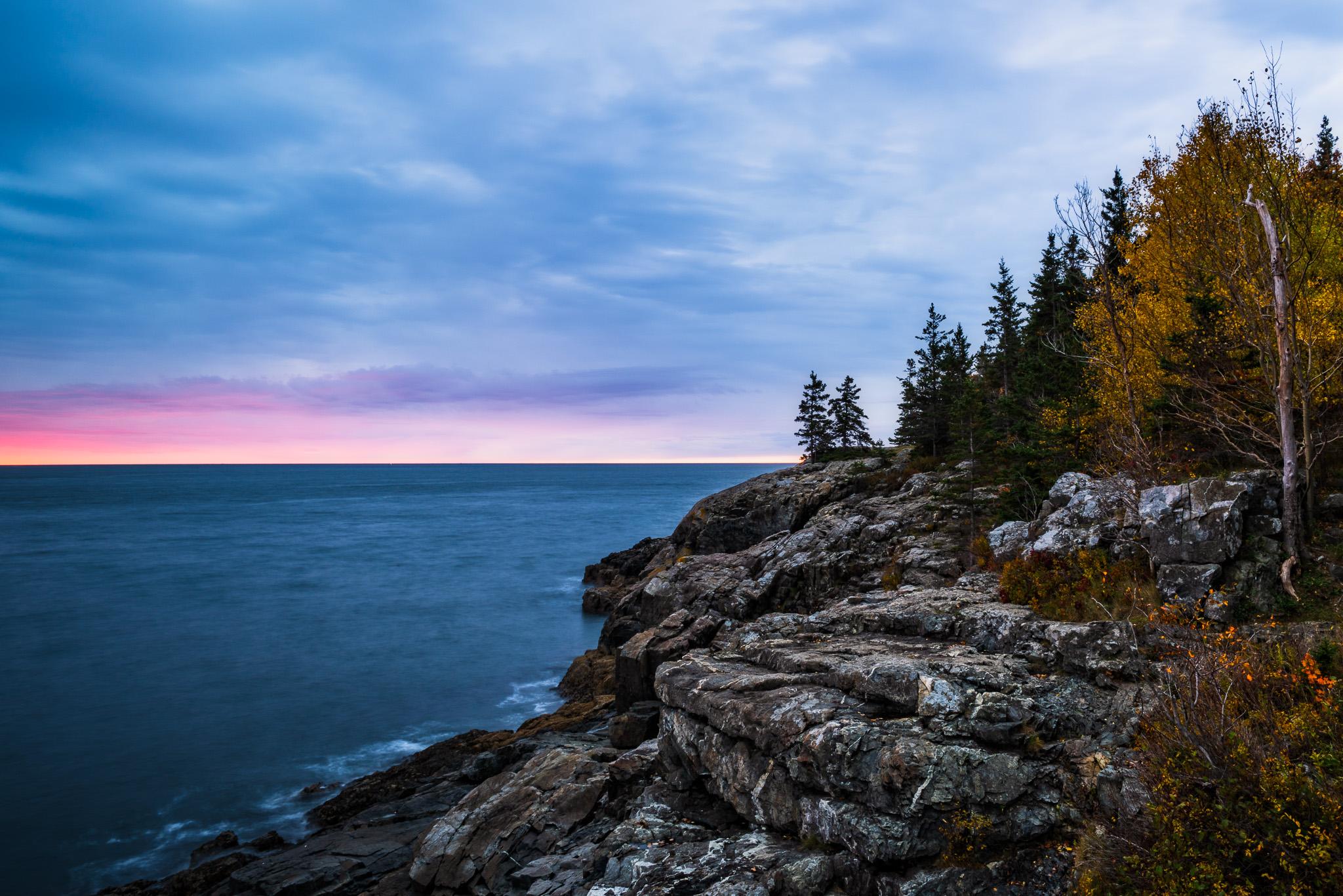 Sunrise At Schooner Head