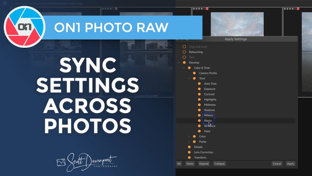 Dual Mode, Sync Settings And More In ON1 Photo RAW 2019 5 — Scott