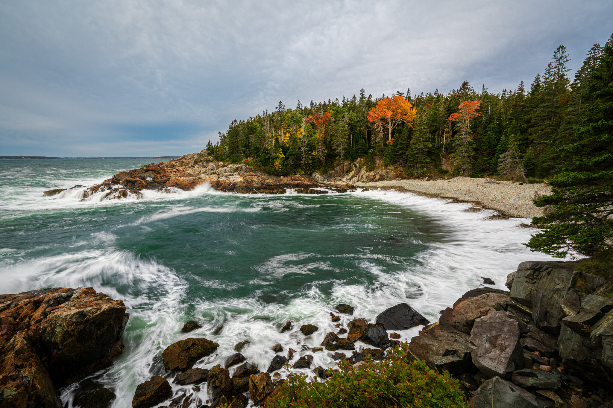 Little Hunters Beach, Acadia National Park.  Contact Scott  to commission a print or license this image.