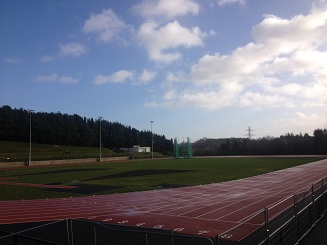 Named after Olympic Gold Medallist Mary Peters, the track was extensively refurbished for the WPFG in 2013