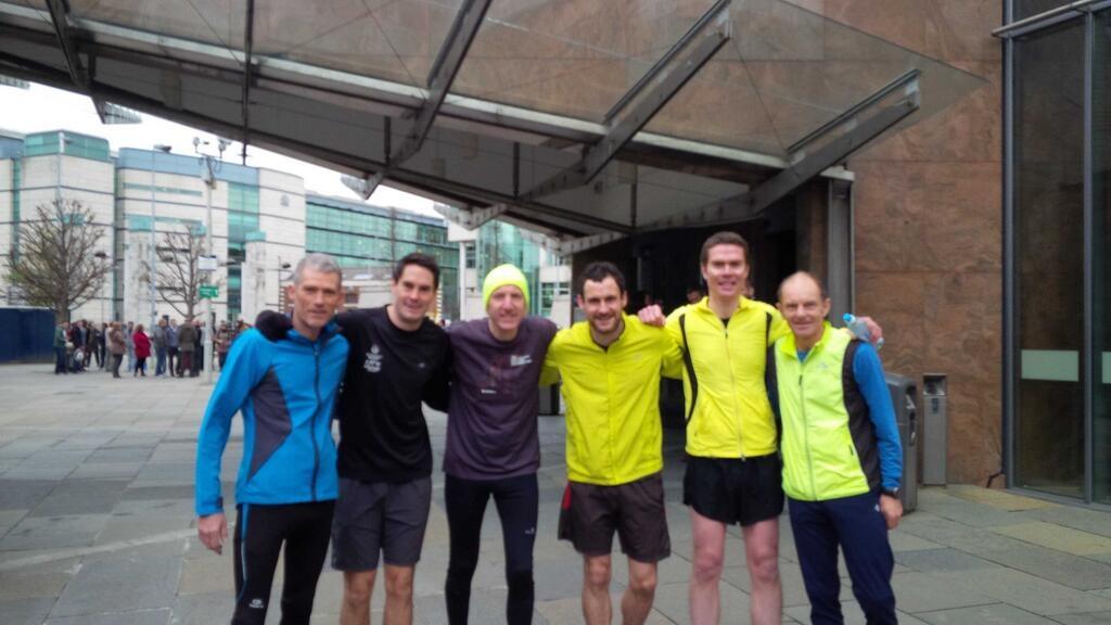 Belfast Lord Mayor invites people on regular 5 mile runs with him via Twitter!