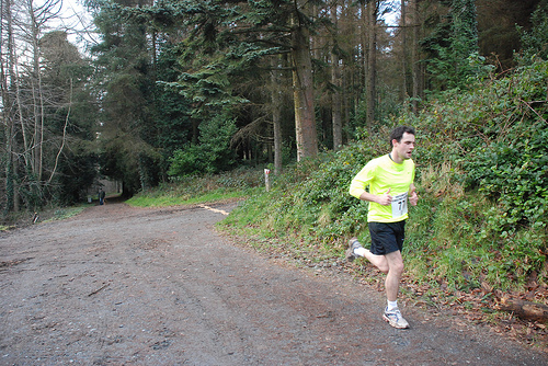 Liam taking part in the Castlewellan Christmas Cracker a few years ago... pre-beard :)