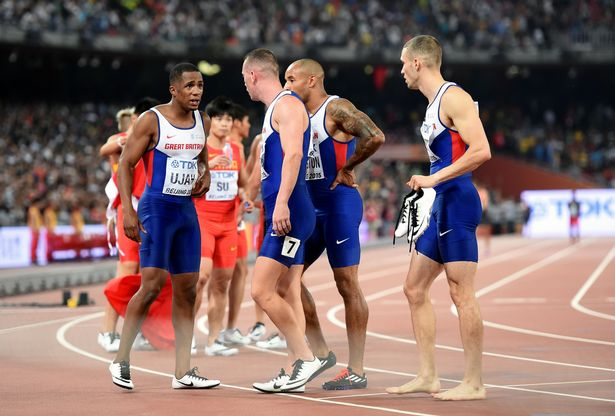 GB Team drops baton at 2015 World Championchips