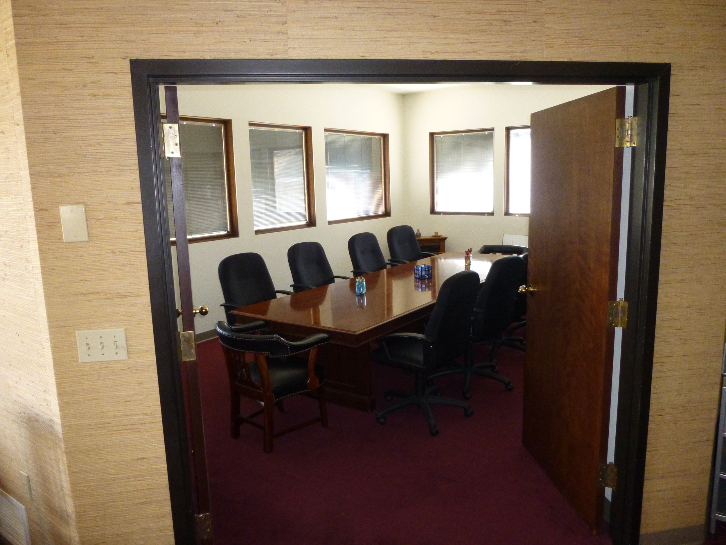 Outside the Board Room