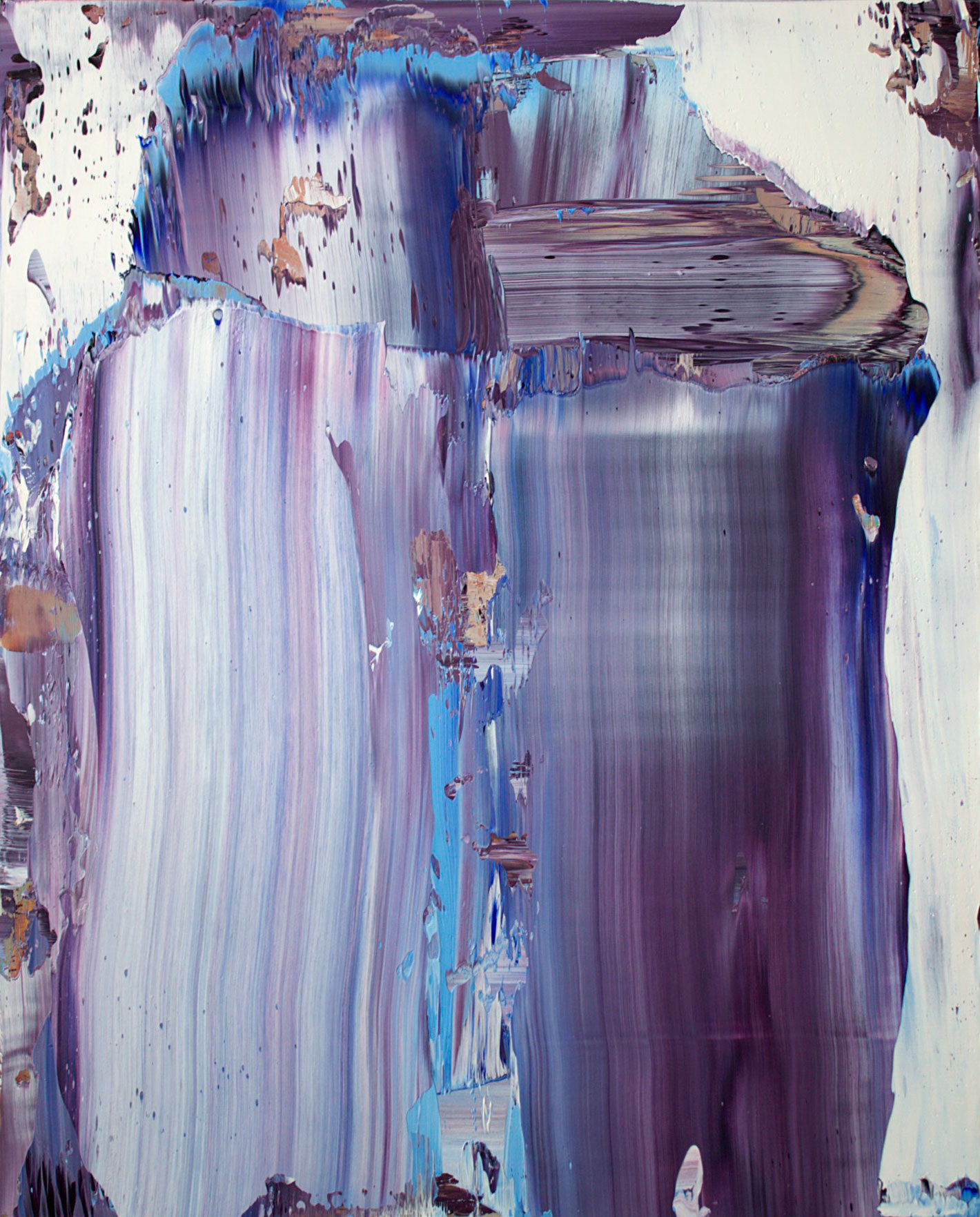 """Iris (March 31, 2014)"" oil on panel 30"" x 24."""