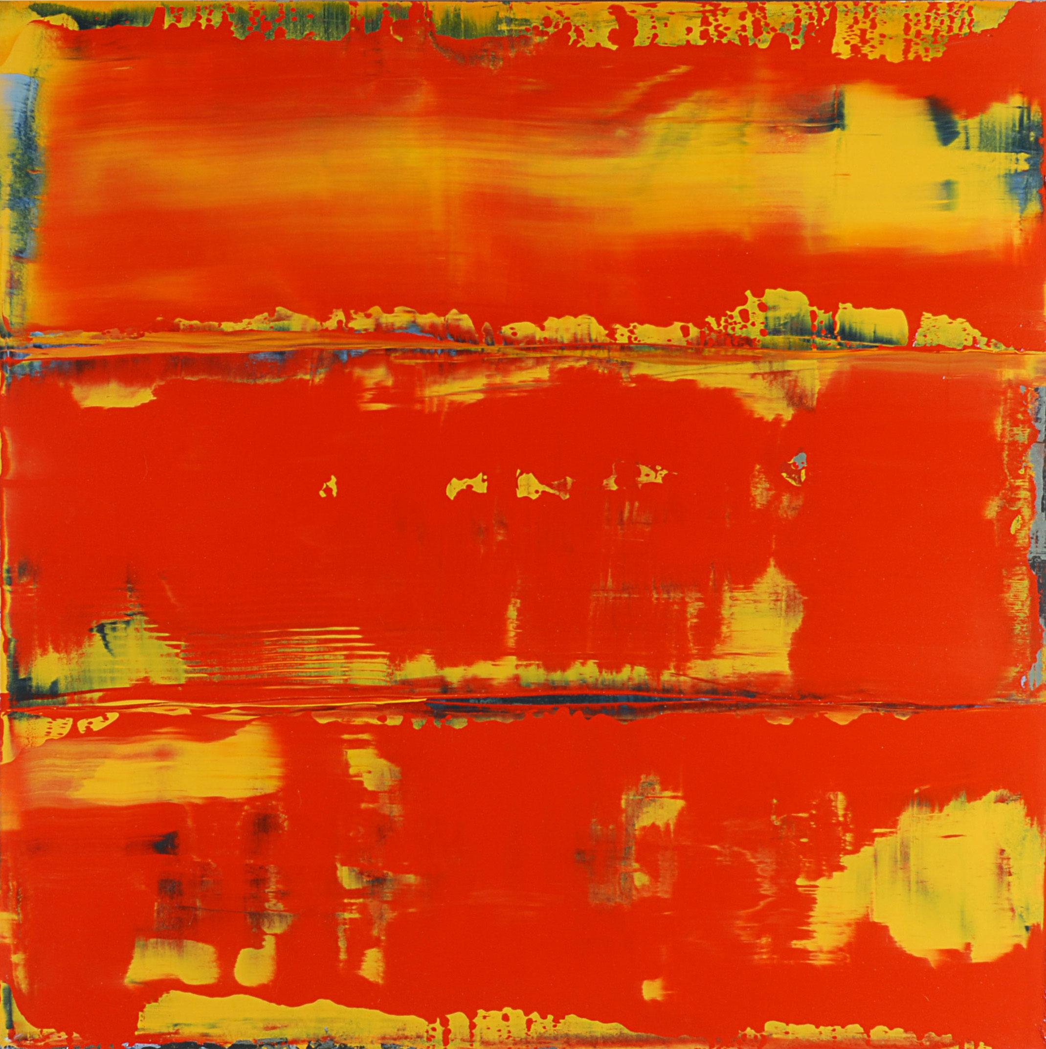 """""""November 19, 2008"""" oil on panel,24"""" x 24."""""""