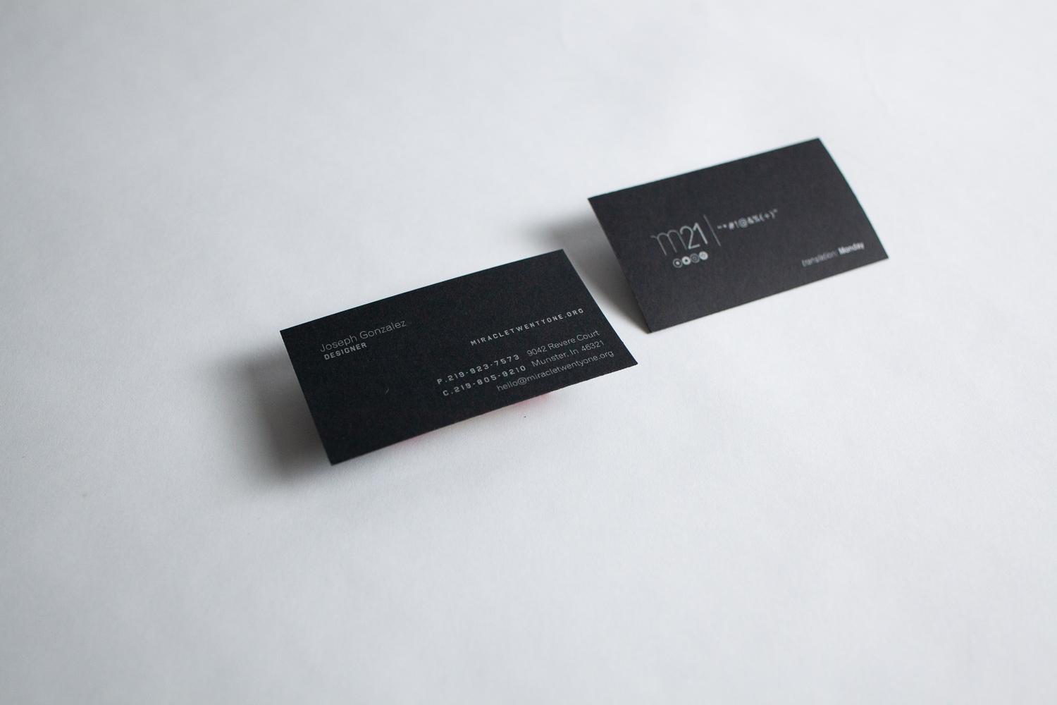 miracletwentyone-business-card