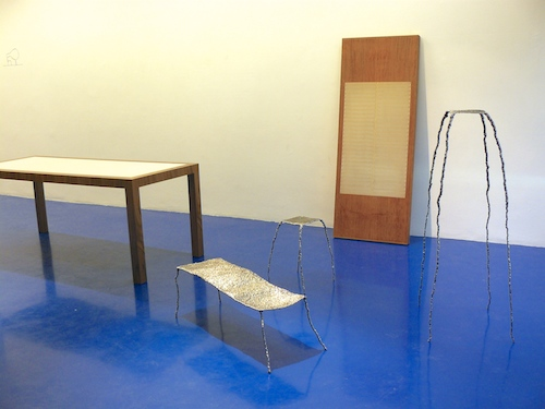 Collection of 3 welded pieces at Vivid Gallery in Rotterdam