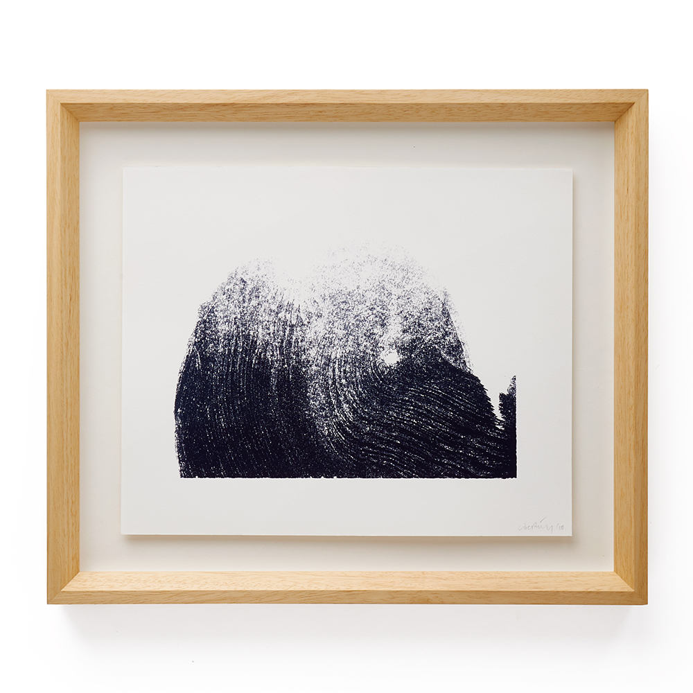 The Wave / 2010 /  SOLD  BiC ink in Canson paper / 44 x 52 cm