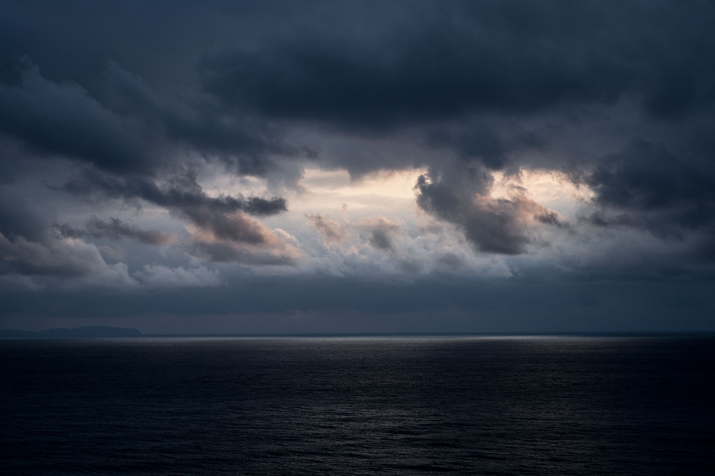Tramontoni magici sul mare.