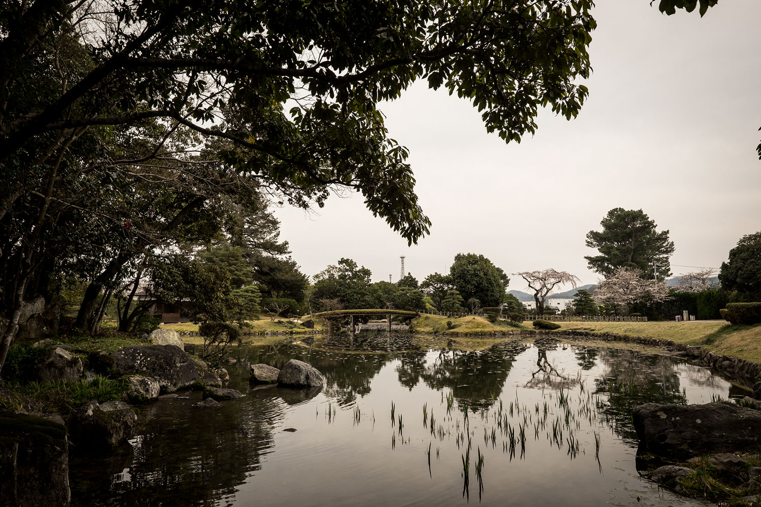 A quick visit at the Japanese gardens of Tsuyama