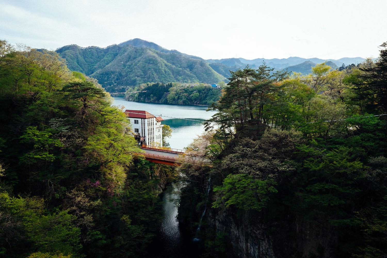 La vista dal ponte.