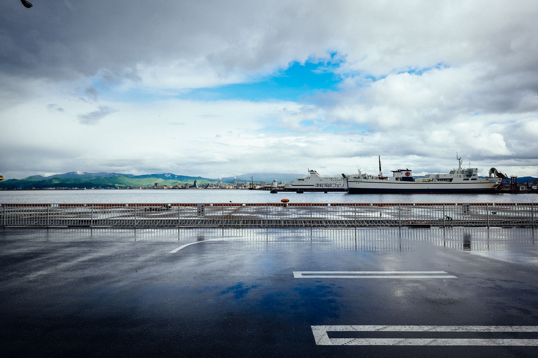 Il terminal dei traghetti.