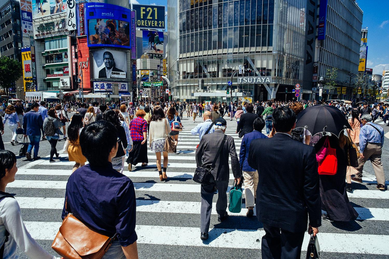 Downtown Shibuya