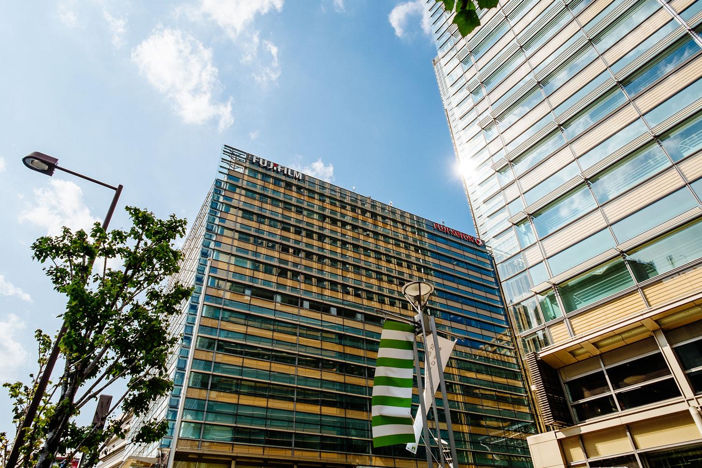 The Fujifilm Japan HQ in Tokyo