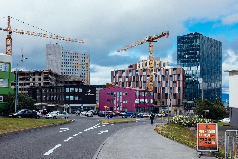 Reykjavik in progress