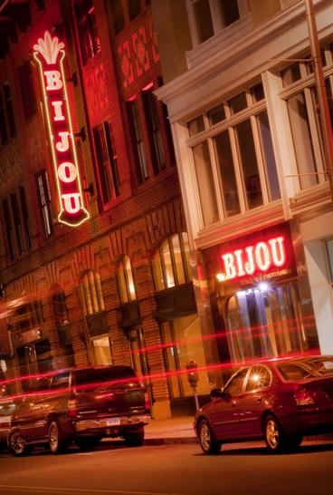 The Bijou Theatre - Downtown