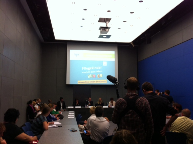 Betreuung Pressekonferenz des KJHV