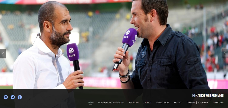 Homepage-Erstellung für TV-Moderator Matthias Killing
