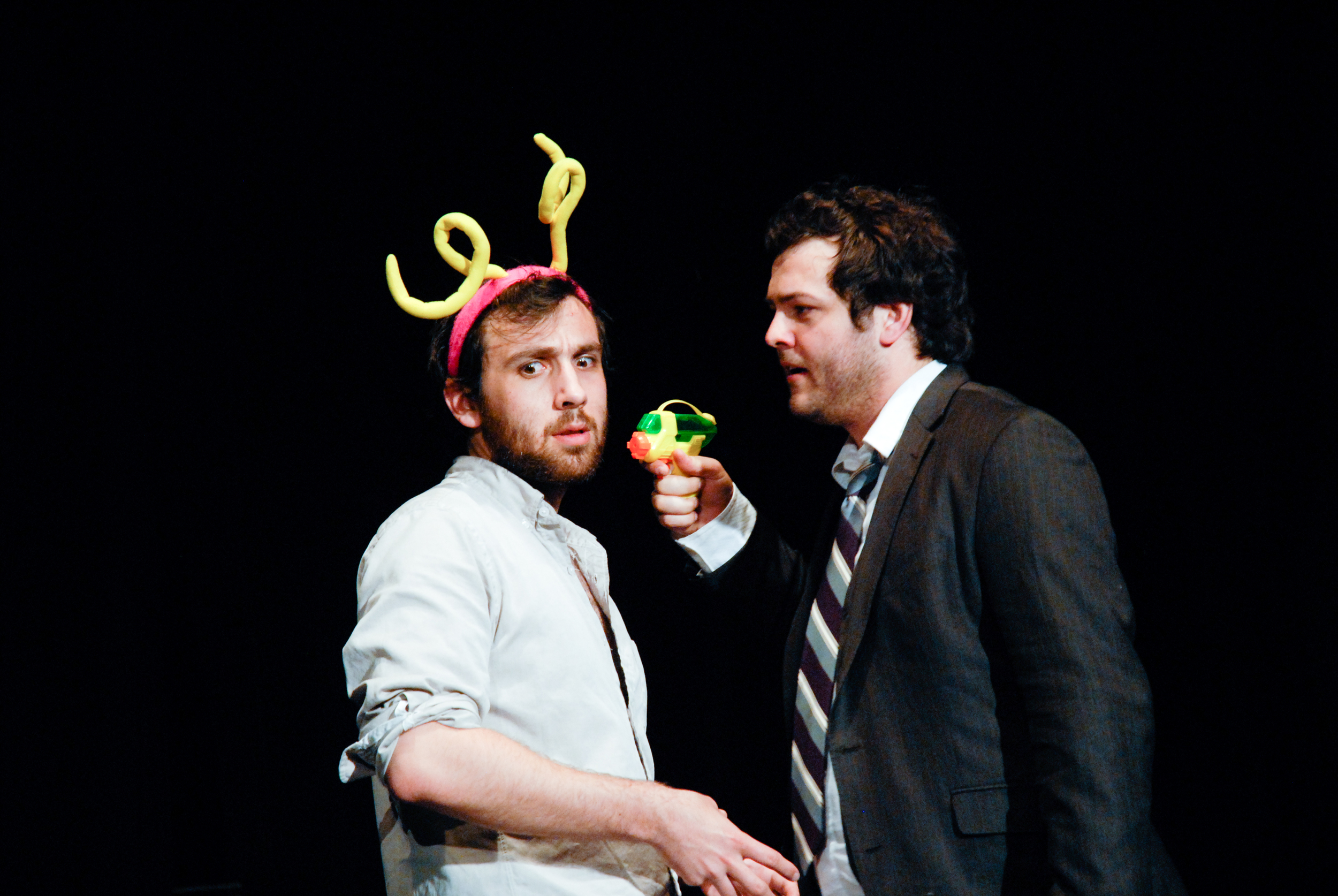 The Monster Closet  by Jonathan Goldberg. Dan Moyer and Nathaniel Kent. Complex Theatre, Los Angeles, 2010.