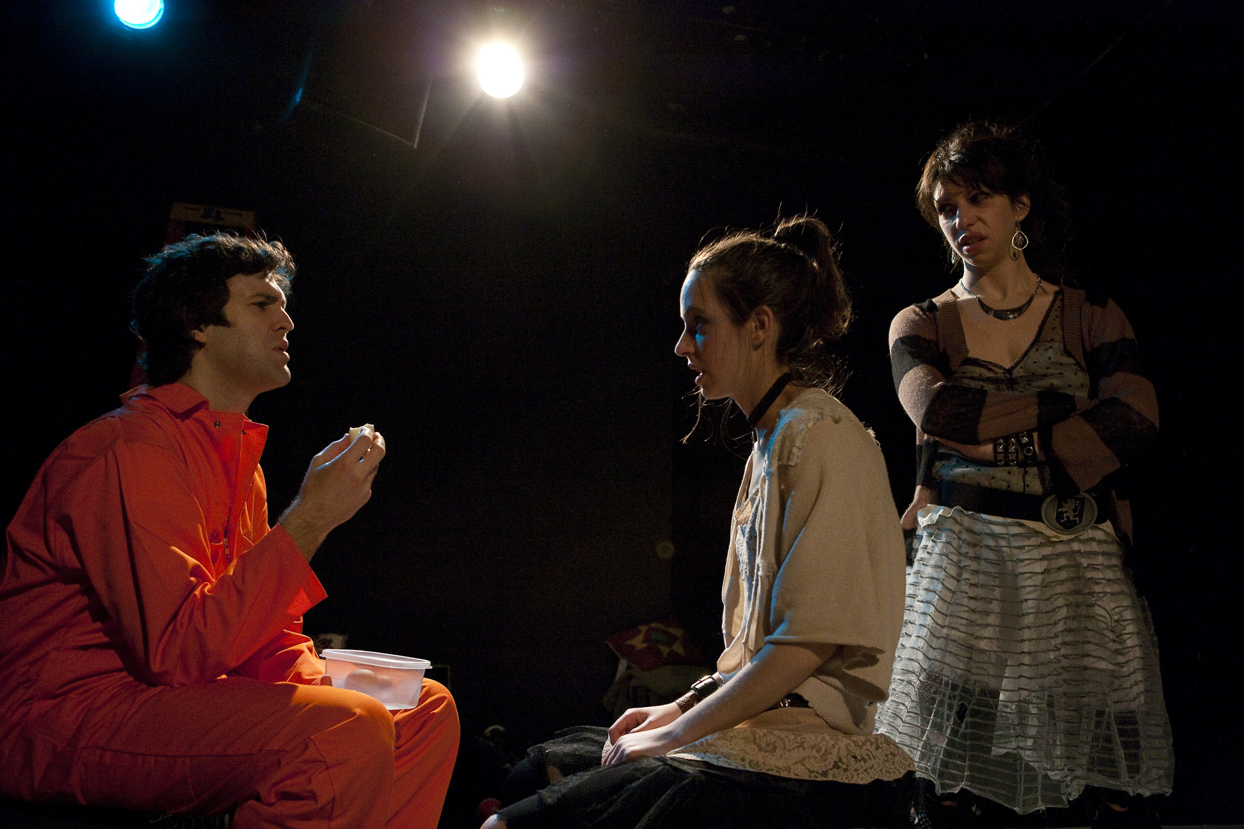 Brendan Donaldson, Jocelyn Kuritsky and Jessica Pohly. Photo by Aaron Epstein.