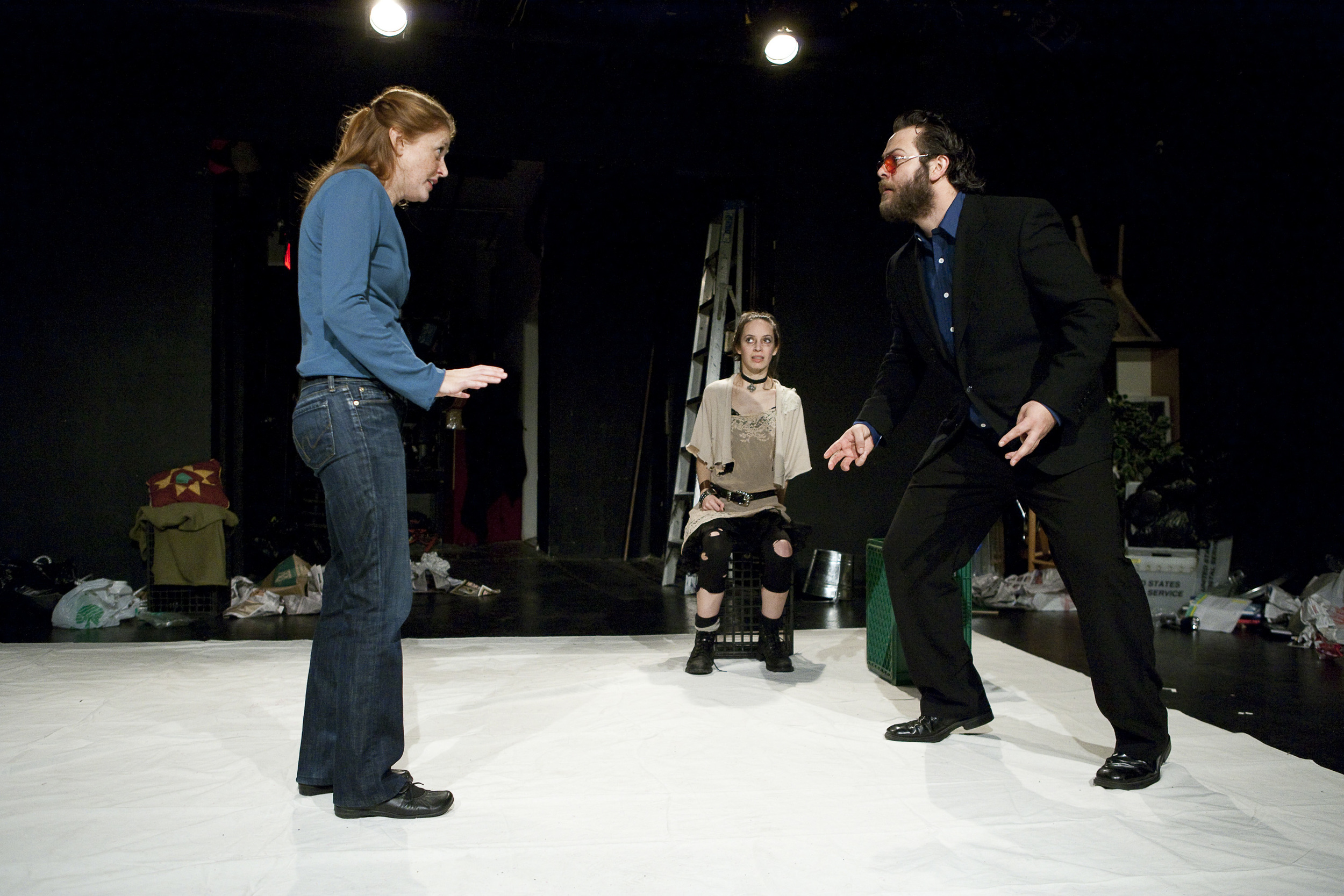 Amy Landon, Jocelyn Kuritsky and Nathaniel Kent. Photo by Aaron Epstein.
