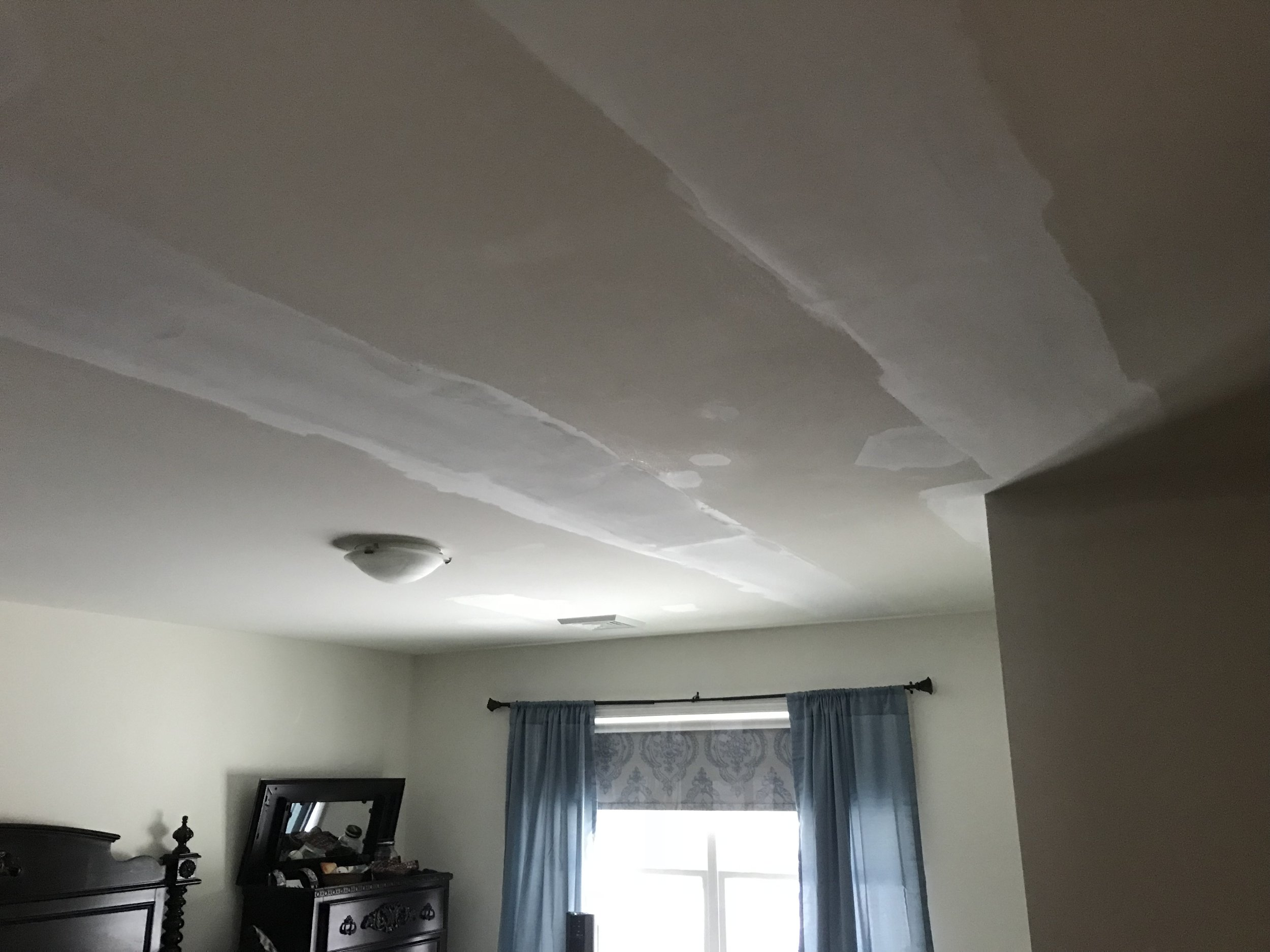 Drywall Repaired Prior to Painting