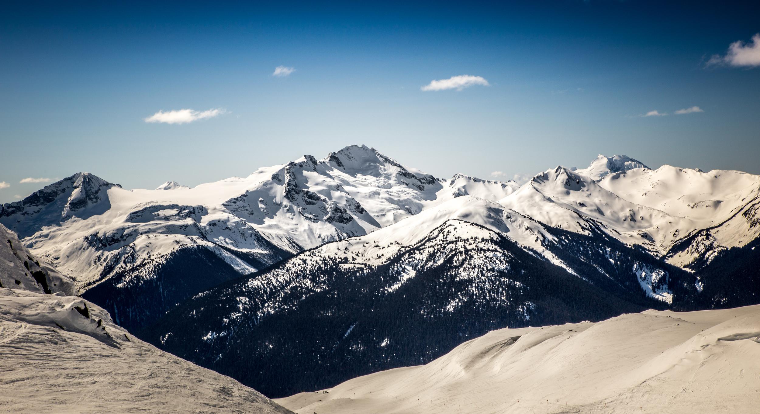 Little Whistler Peak view
