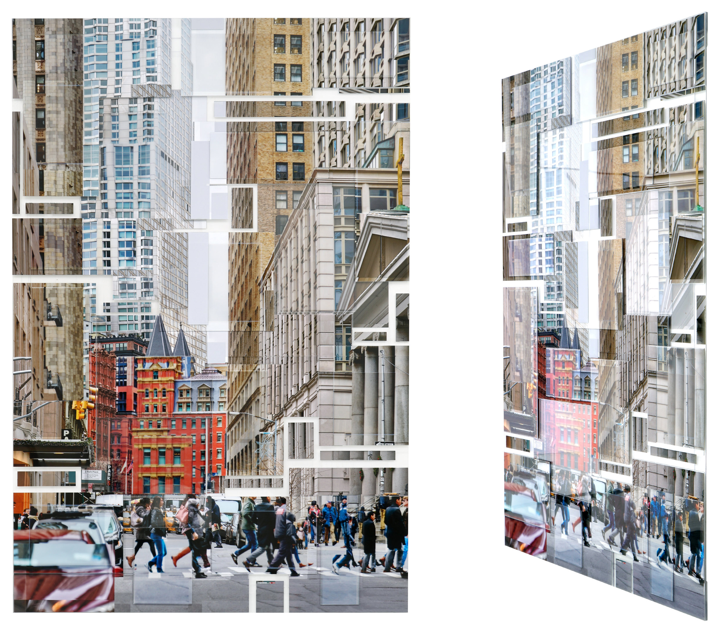 nyc 157   2/17  30x45in 76x114cm
