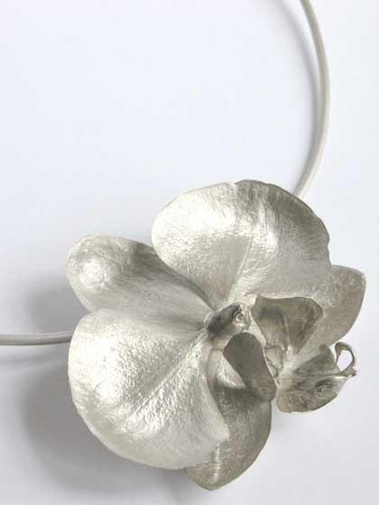 Nic Bladen-phalaenopsis pandant on choker.jpg