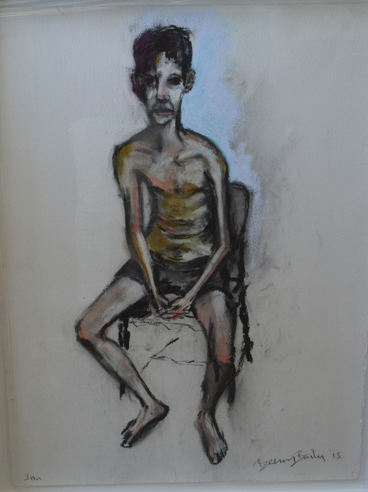 Beezy Bailey_Portrait of Ian Grose_pastel on pure cotton paper_R38000.jpg