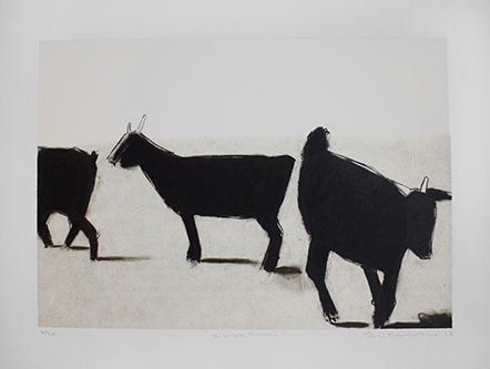 Sam-Nhlengethwa Winter Grass One 4of20 Three colour chine colle lithograph 608x471 (1).jpg