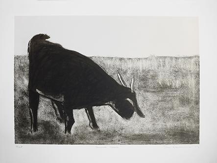 Sam-Nhlengethwa---Summer Grass Three colour chine colle lithograph 608x471 (1).jpg