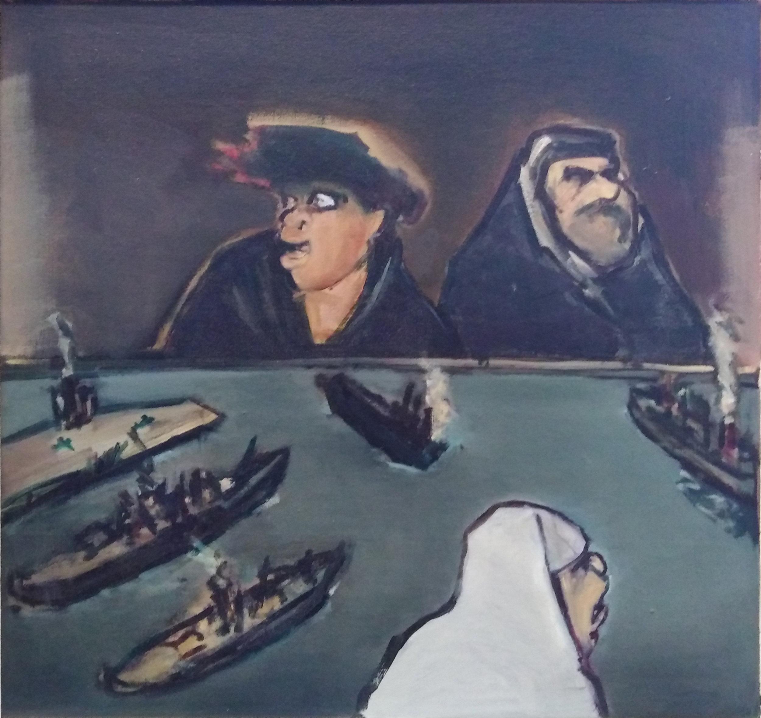George Coutouvidis - Oil on Board, 650x650mm .jpg