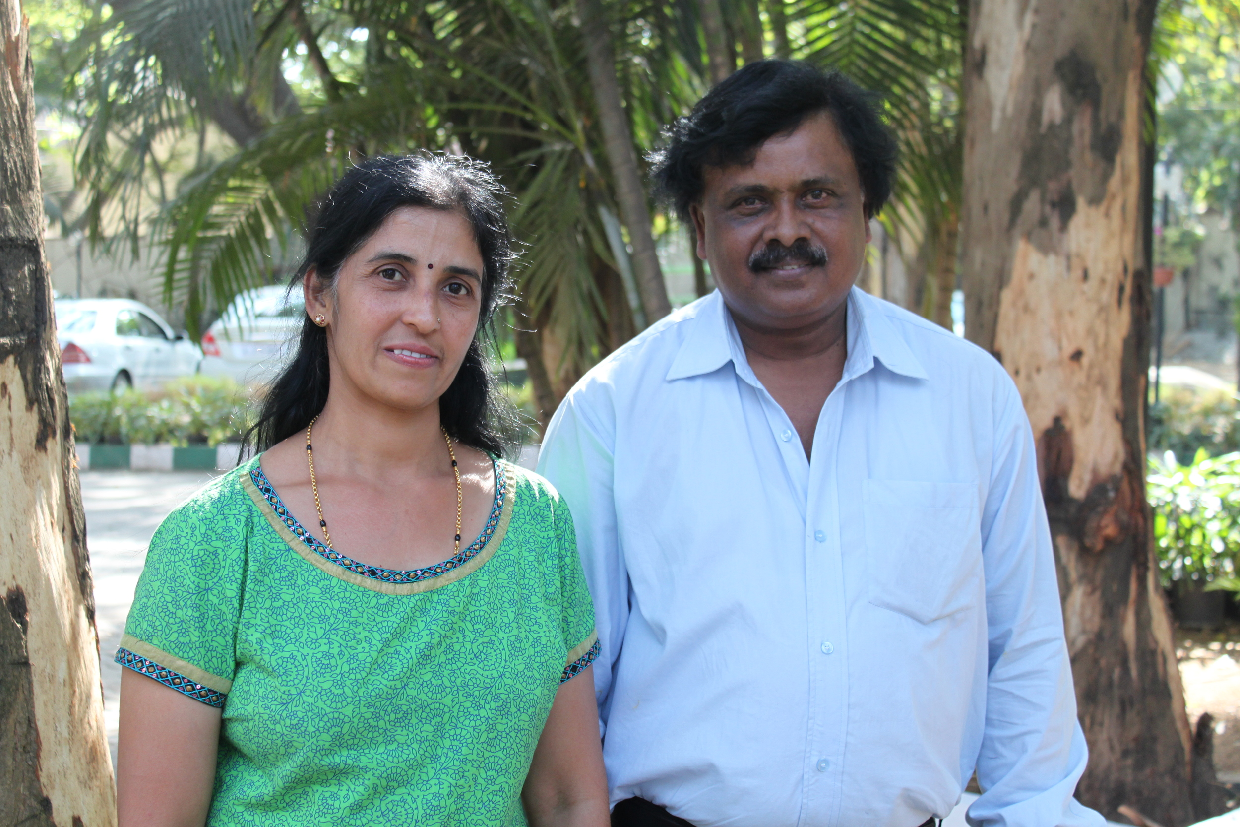 Suma and Kumar, India Production Team