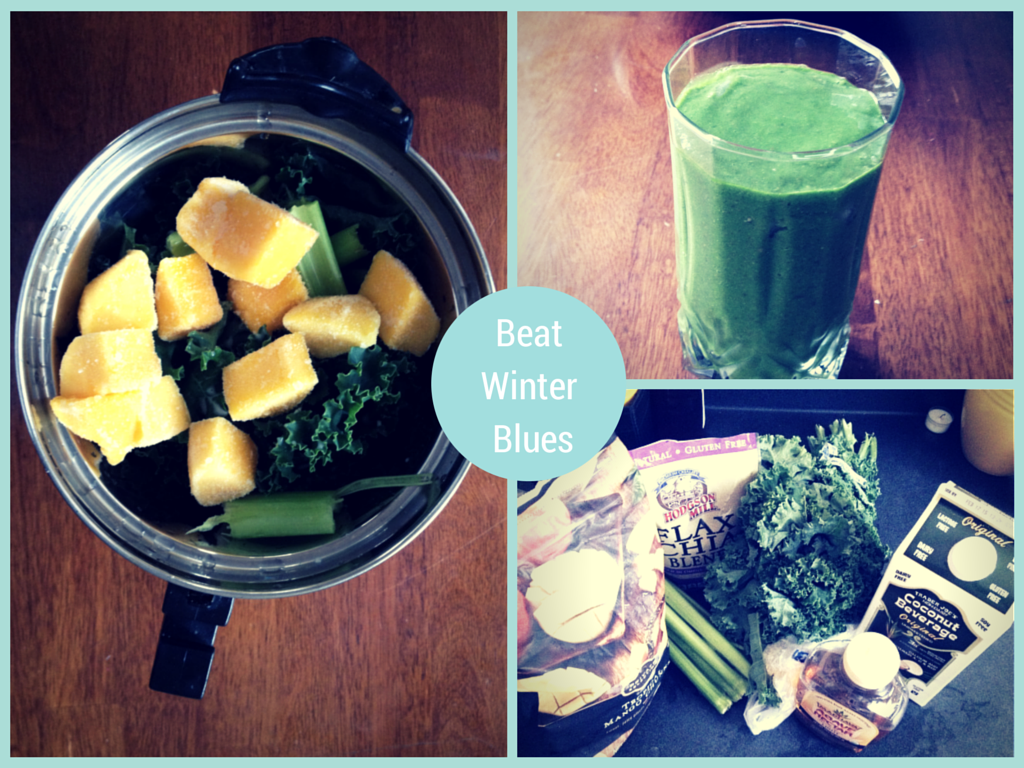 Green Smoothie for Winter Blues