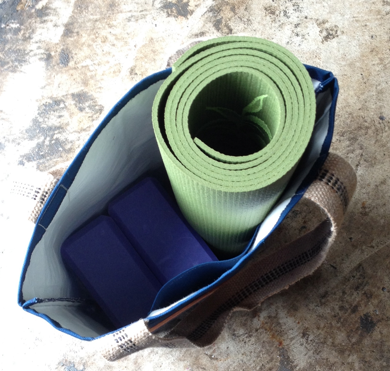 My 10-year old Gaiam Mat.